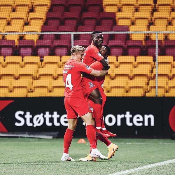 Kamal Deen Sulemana On Target As FC Nordsjaelland Thump FC Midtjylland 4-1