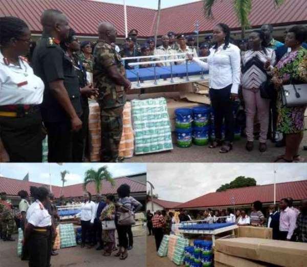 Philanthropist Supports 37 Military Hospital