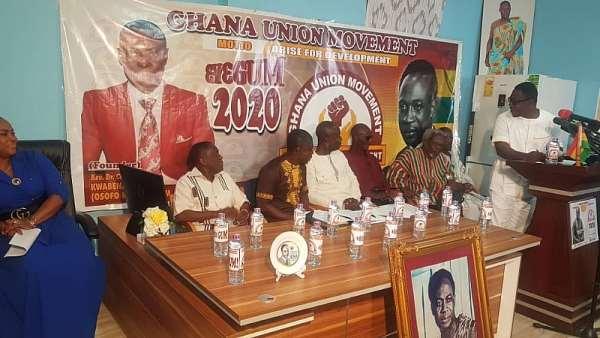 Sofo Kyiri Abosom Launches Ghana Union Movement Political Party