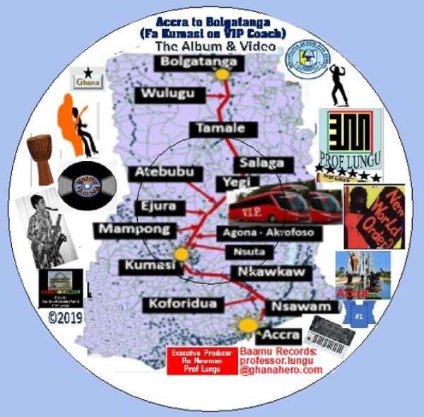 Accra to Bolgatanga Fa Kumasi on VIP Coach