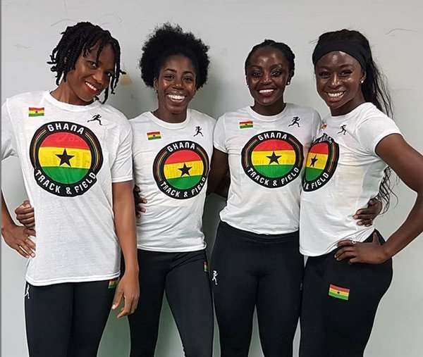 Doha 2019: Ghana's women's Relay Team Finishes Eighth In 4x100m