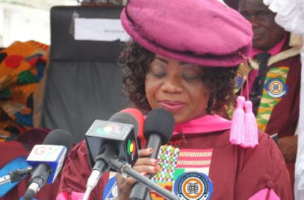 Prof Dzisi Encourages More Females Into Science And Technology