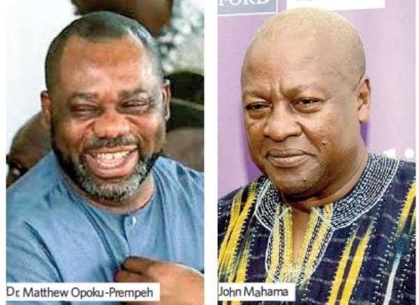 Napo Fights Mahama's Sex Education Claim