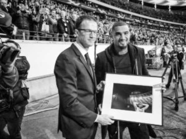 Kevin Prince Boateng Honoured By Eintracht Frankfurt