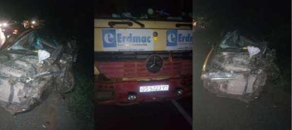 Tarkwa-Bogoso Highway Crash Injures 4 Persons