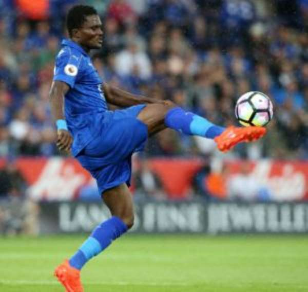 Daniel Amartey Plays Full Throttle In Leicester City's Defeat To Everton