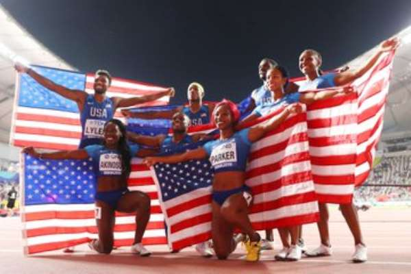 Doha 2019: USA Take Men's 4x100m Relay Gold, Jamaica Grab Women's Title