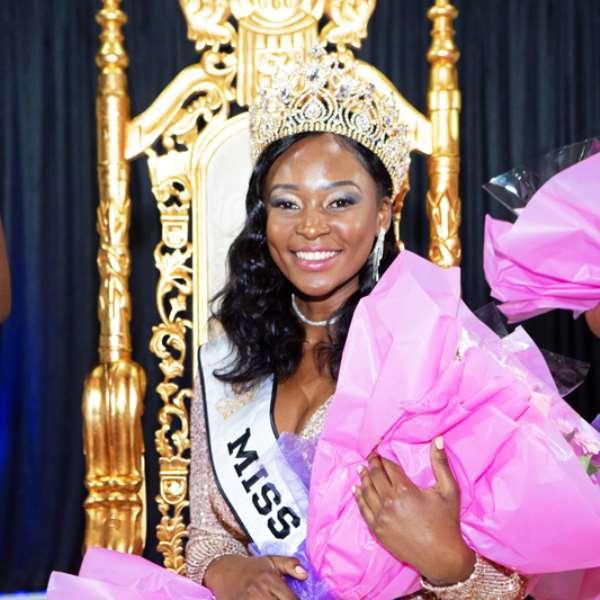 Cecilia Musonda From Zambia Becomes Miss Africa Great Britain 2019