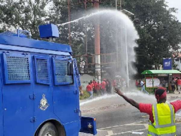 Law Students' Demo: Police Fire Tear Gas, Gun Shots, Arrest 10 And Scatter Demo