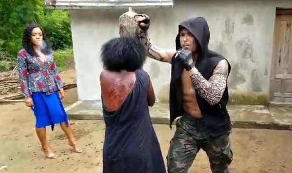"""Van Vicker plays bad boy role in new movie titled """"AMA"""" (Video)"""