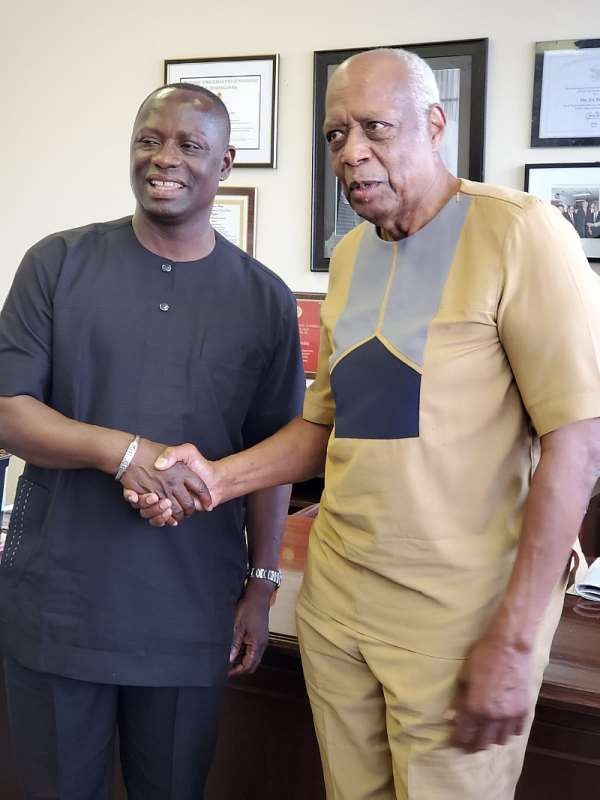 MP for Ellembelle Mr. Emmanuel Armah-Kofi Buah