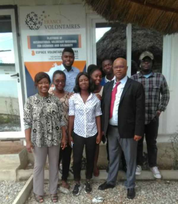5 new Ghanaian volunteers to be welcomed in France in 2019