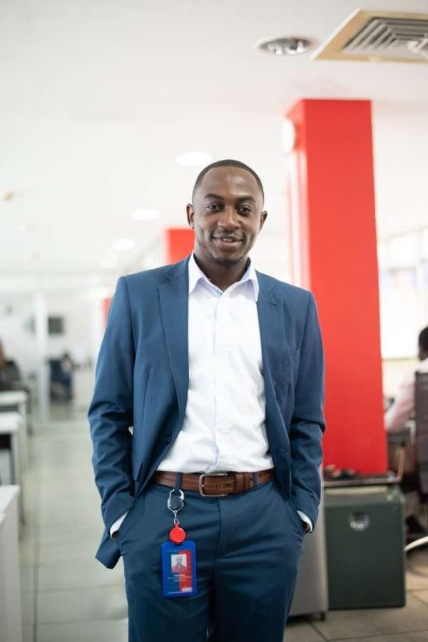 The Director of Customer Experience at AirtelTigo Mr. Frank Djan