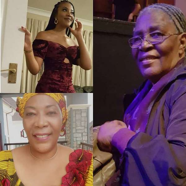 UK Based Ex Beauty Queen And Accountant, Chichi Mbagwu Losses 80 Years GrandMa, Says She Lived A Memorable Life