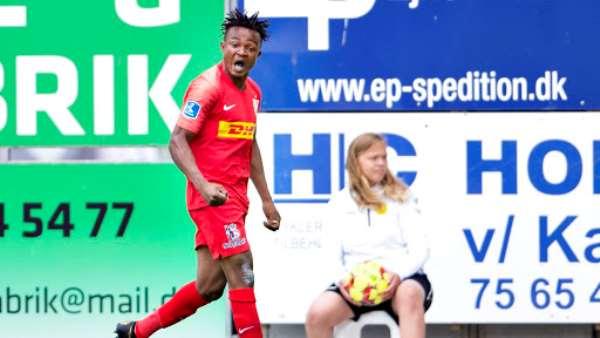 Ghanaian forward Isaac Atanga