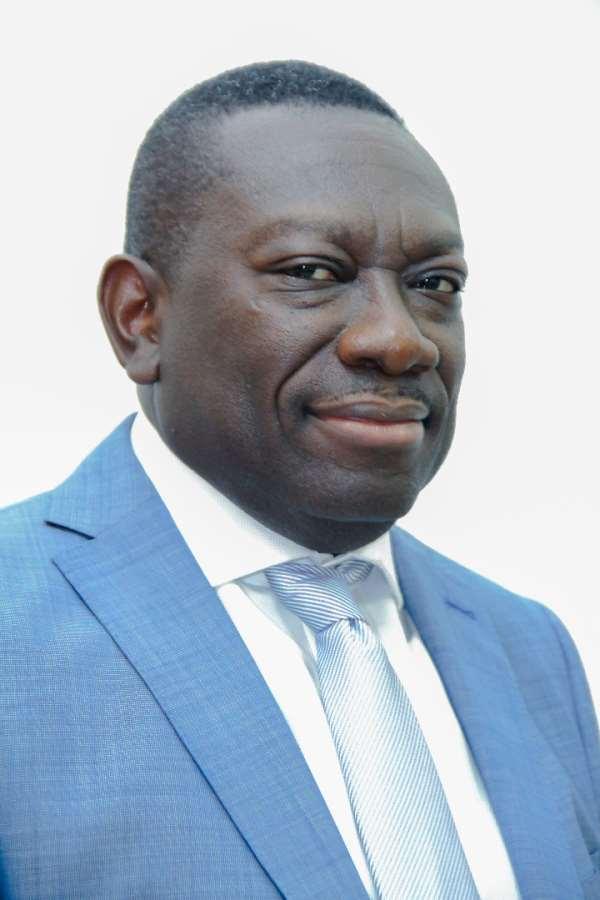Ghana Post MD, Mr. James Kwofie