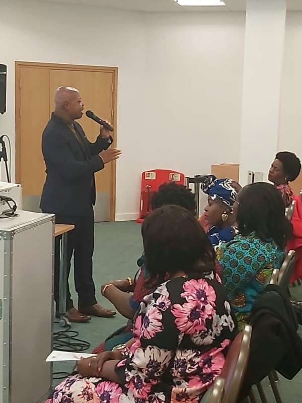 """Spoken Word Artiste Rhyme Sonny Performs At """"Women At The Well"""" Organization In UK"""