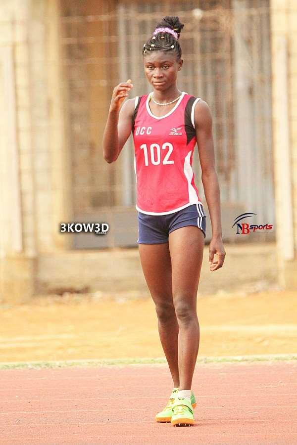 Rose Yeboah Sets New GUSA Games Record In High Jump