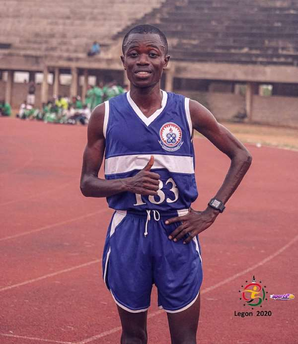 William Amponsah Smash Long Distance Records At GUSA Games 2020