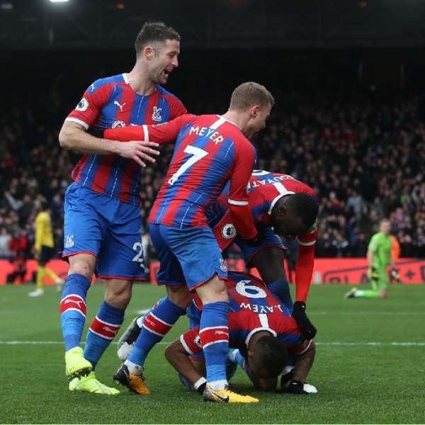 Jordan Ayew Scores Against Arsenal To Earn A Vital Point For Crystal Palace
