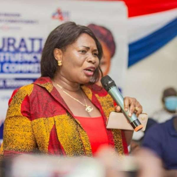 Let's Surge On With Unity To Support The President -Serwaa Akoto