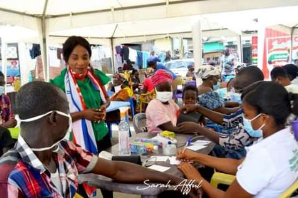 About 575 Benefit From Free Health Screening In Cape Coast South
