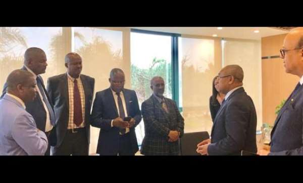 Newly Elected Federations Presidents Visit CAF