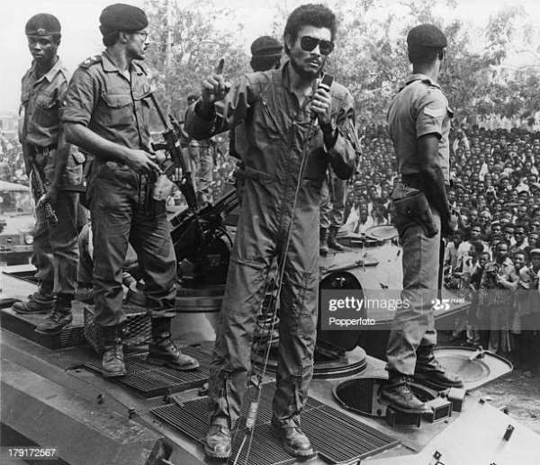 Cadres Shocked By The Sudden Demise Of Flt. Lt. J.J. Rawlings