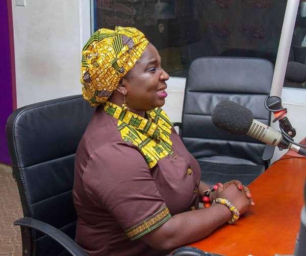 Kobi Hemaa Osisiadan-Bekoe, Head Of Corporate Communications of Ghana Post
