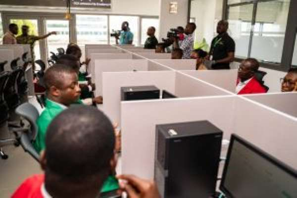 First electronic trade on the Ghana Commodity Exchange executed