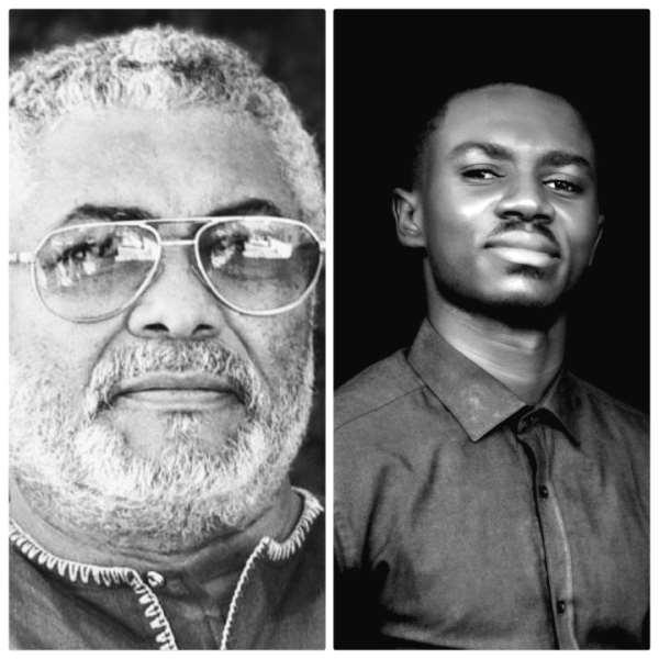 Ghanaian Author, Award Winning Poet Gabriel Awuah Mainoo Of UCC Mourns Jerry John Rawlings