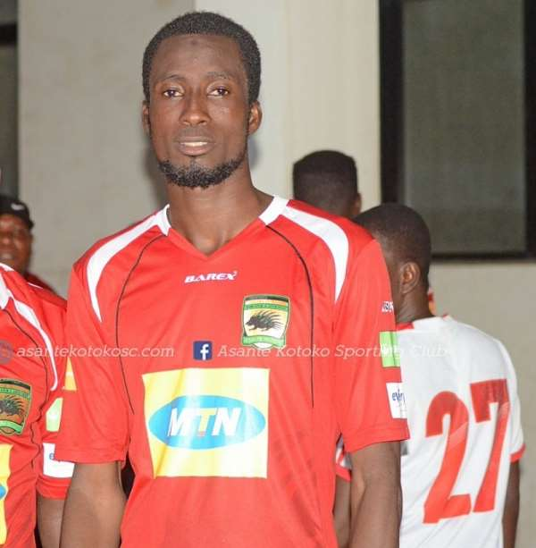 Asante Kotoko Defender Umar Bashiru Commends Coach C.K Akunnor