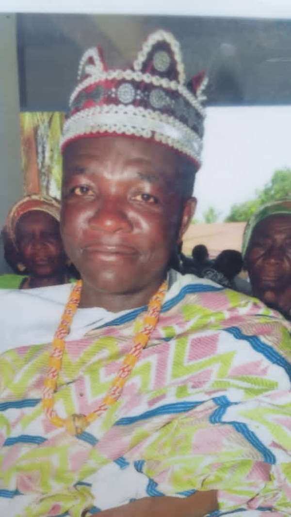 V/R: Ayitikope Chief Calls For Peaceful Election 2020