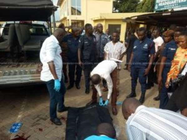 Asawase Zongo killing - 21 police officers interdicted