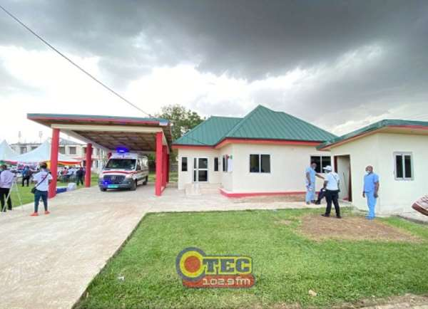 NAPO Constructs Ultra-modern Ambulance Bay For Manhyia Hospital