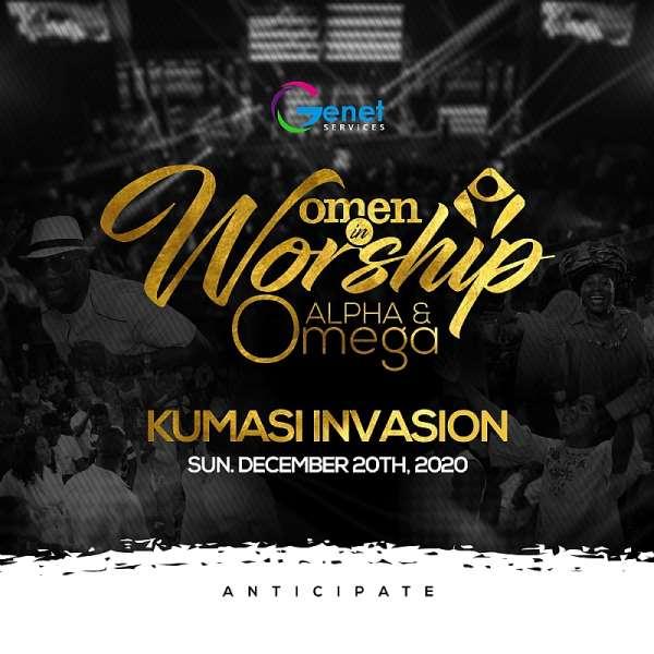 Women In Worship 2020 To Invade Kumasi On Sunday 20th December.