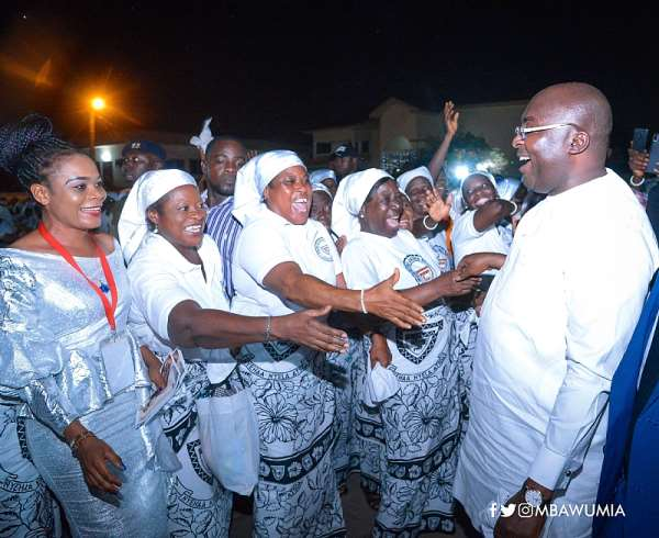 2020 New Year: Bawumia Prays For Peace, Love And Unity Among Ghanaians