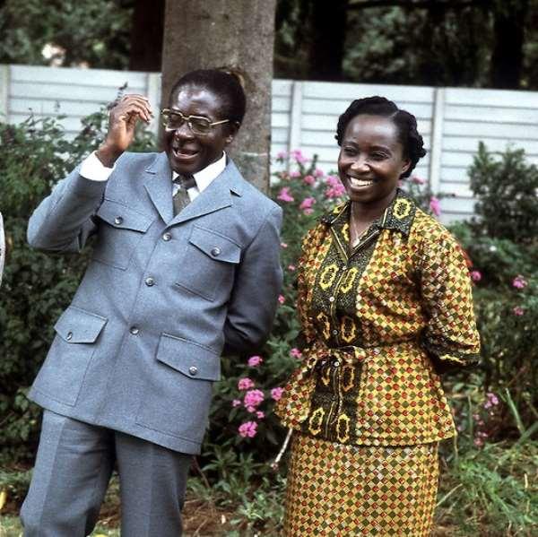 Robert and Sally Mugabe