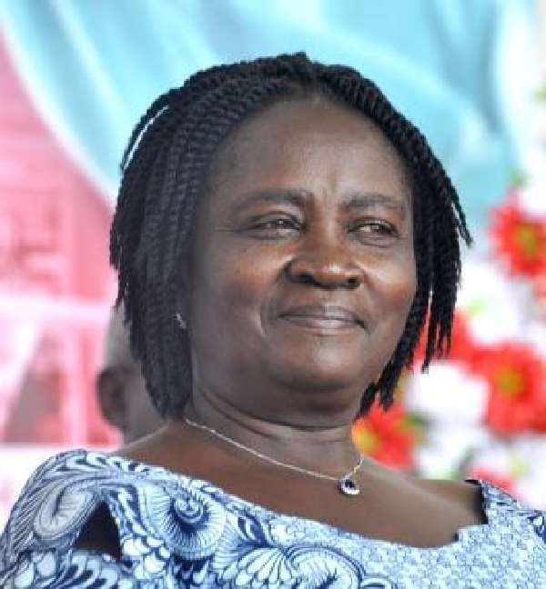 Former Minister for Education, Professor Naana Jane Opoku-Agyemang