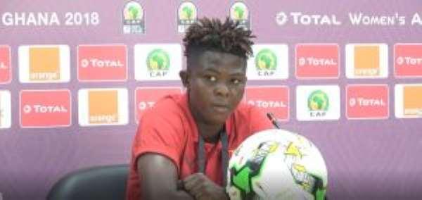 AWCON 2018: Priscilla Okyere Says Mali Is No Match To Black Queens