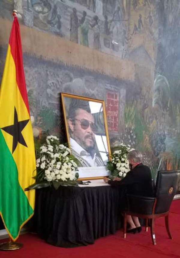 STATEMENT: US Ambassador On The Passing Of Ghana's Former President Jerry John Rawlings