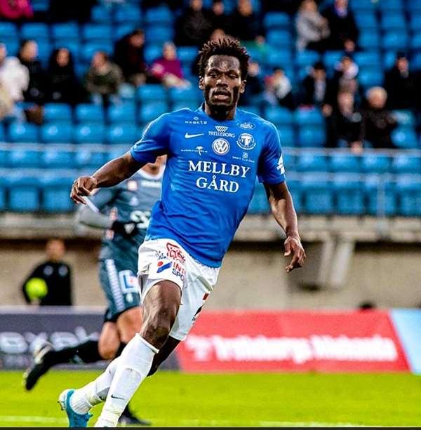 Trelleborgs FF forward Abdul Fatawu Safiu