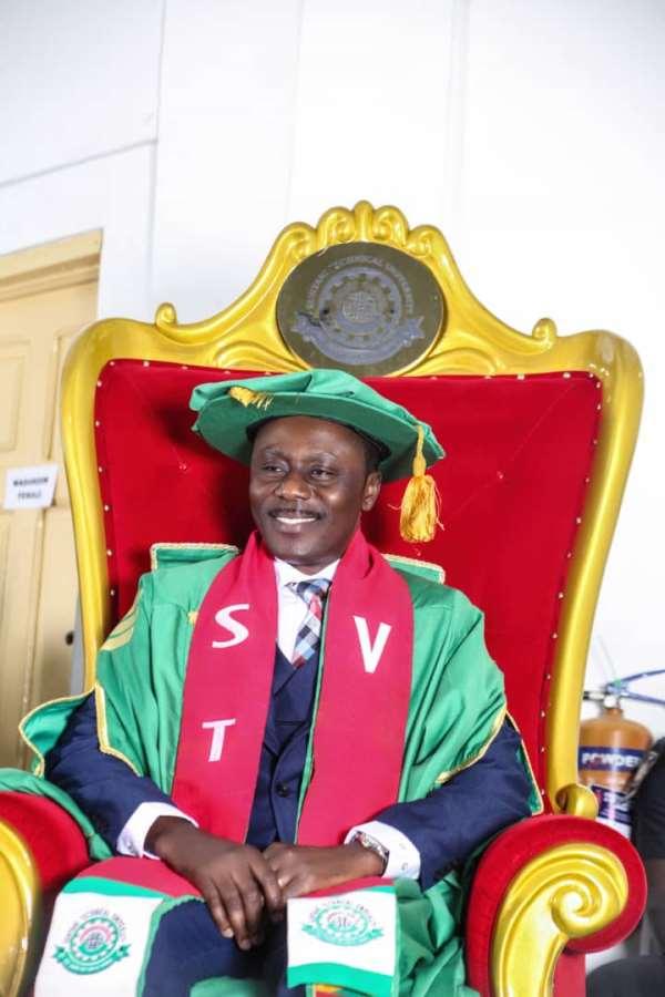 Prof Adinkrah-Appiah Chairs VCs Of Technical Universities-Ghana