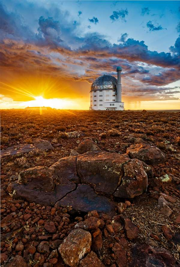 The Southern African Large Telescope has been a key part of South Africa's astronomical contributions. - Source: SAAO