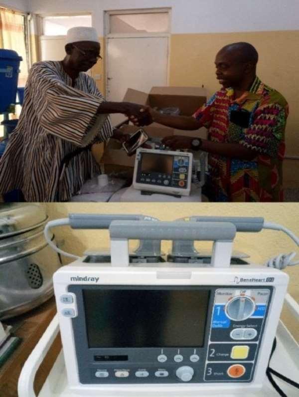 Upper East: Regional Hospital Benefits From Philanthropist