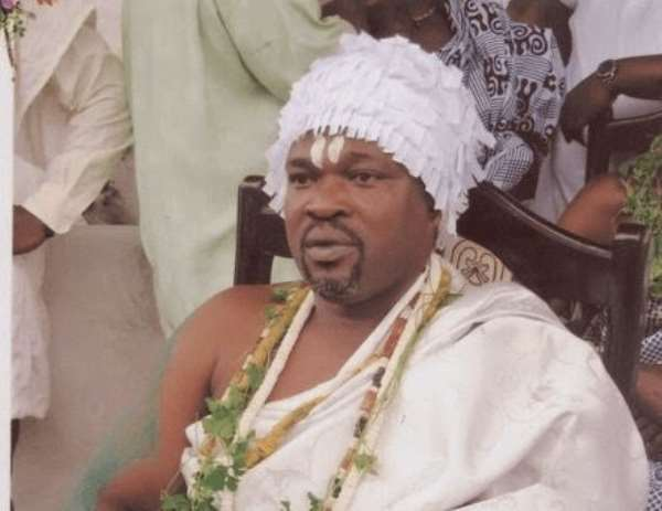 Numo Blafo III is the President of the GaDangme Council of WulomÉ›i
