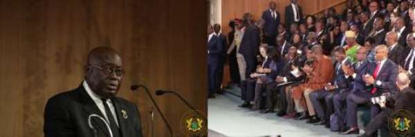 Akufo-Addo Makes Strong Case For Africa To Move Beyond Aid