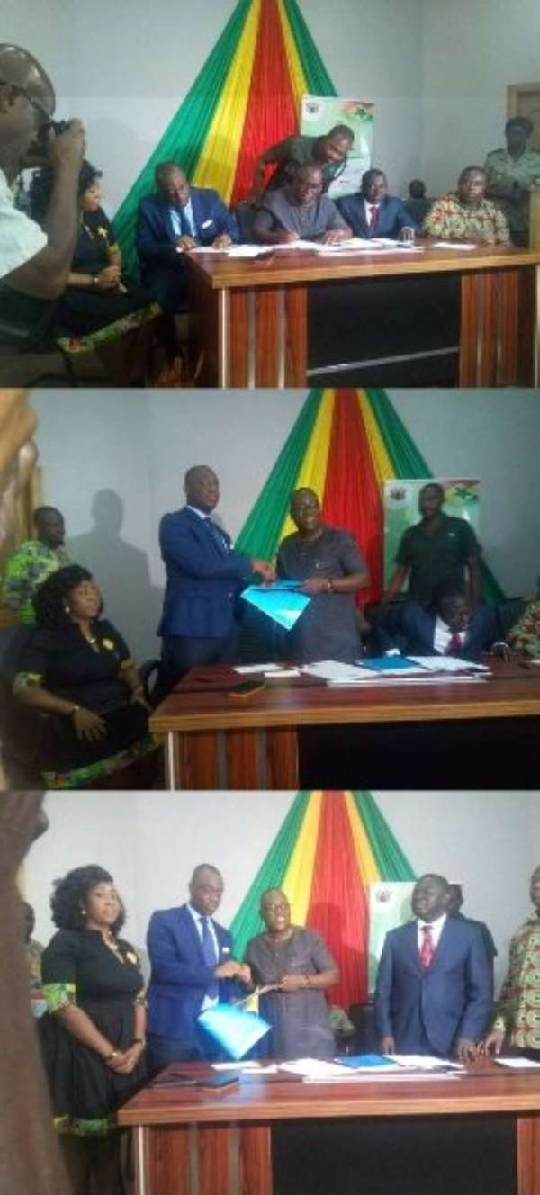 YEA And Forestry Commission Sign Agreement