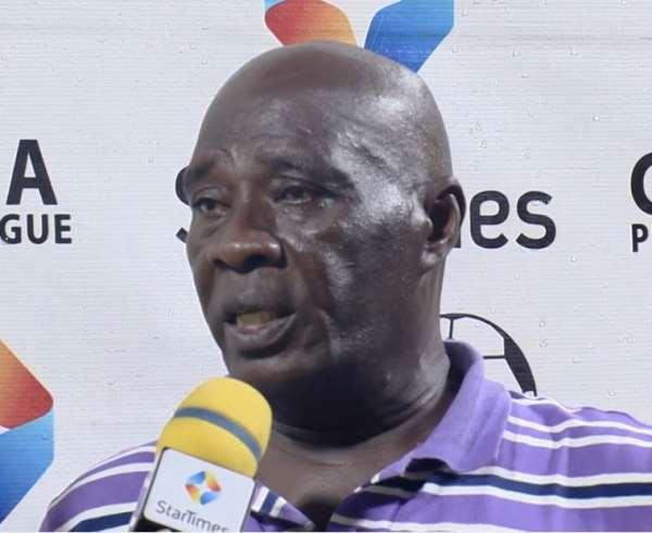 Great Olympics head coach Annor Walker