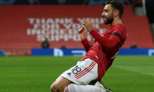 Bruno Fernandes Hits Brace In Manchester United's 4-1 Hammering Of Istanbul Basaksehir